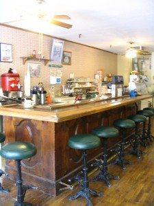 New Location for Main St. Deli!!! The Weed Mercantile building's Cougar Cafe